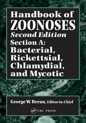 Handbook Of Zoonoses Second Edition Section A Bacterial Rick... 9780849332050