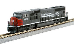 Kato 1767611 N Scale Sd70m Flat Radiator Southern Pacific 9804 176-7611 New