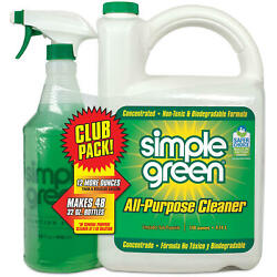 Simple Green All-purpose Cleaner 140 Oz. Refill + 32 Oz. Trigger Spray