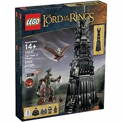 Lego Lord Of The Rings - Rare - Lotr 10237 The Tower Of Orthanc - New And Sealed