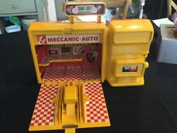 Jouet Vintage Andlaquoandnbspmeccanic - Autoandnbspandraquo Station Service Smoby Assistance