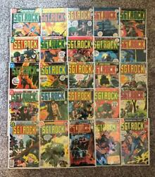 Sgt. Rock S 302 To 422 Complete Run, Annuals 2 To 4 High Grade Lot