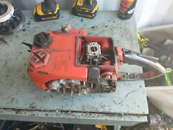 Vintage Homelite 360 Chainsaw Engine And Frame Assembly