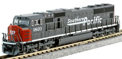 Kato N Scale Sd70m Locomotive Southern Pacific Sp 9820 Dc Dcc Ready 1767612