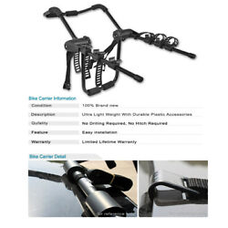 Universal 3 Bike Bicycle Carrier Rear Trunk Mount Heavy-duty Holder For Bmw Gmc