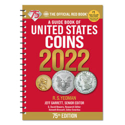2022 Red Book Of Us Coins Spiral Soft Cover Redbook In Stock And Shipping