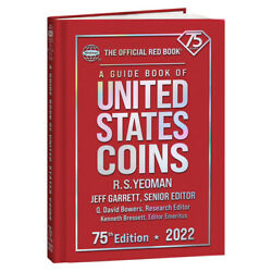 2022 Red Book Of Us Coins Hard Cover Redbook In Stock And Shipping