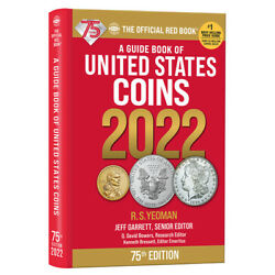 2022 Red Book Of Us Coins Spiral Hard Cover Redbook In Stock And Shipping