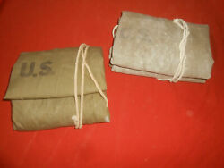U.s.army Wwii 1942 Tent 2 X 1/2 Pup Tent Shelter The Same Factory