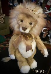 Charlie Bears Haider Gorgeous Lion From 2019 Best Friends Club Sold Out