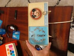 1960 Mickey Mouse General Electric Clock/radio Youth Electronics