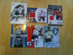 Mike Green 6 Card Lot Washington Capitals 2 Jersey Cards--3 Rookie Cards--+