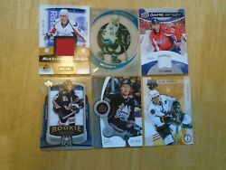 Mike Green 6 Card Lot Washington Capitals 2 Jersey Cards--3 Rookie Cards--++