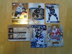 Mike Green 6 Card Lot Washington Capitals 3 Rookies--2 Jersey Cards--1 Pre-rc