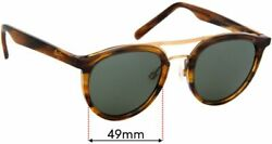 Sfx Replacement Sunglass Lenses Fits Maui Jim Mj529 Sunny Days - 49mm Wide