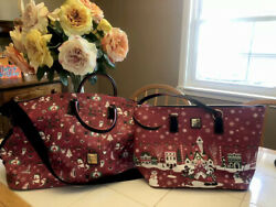 2019 Disney Dooney And Bourke Holiday Set Purse And Weekender Bag, Christmas 🌲