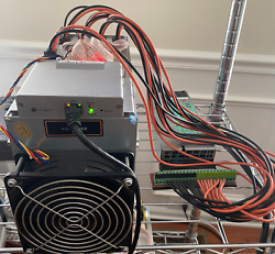 Bitmain Antminer L3+ 504 Mh/s With Psu Dogecoin Doge Litecoin Ltc Miner - Tested