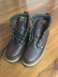 Georgia Boots Men#x27;s G6274 Giant Leather 6quot; Work boots 9M