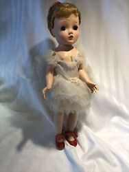 1950andrsquos Madame Alexander Margot Ballerina Doll Tagged Original Outfit 14andrdquo Lovely
