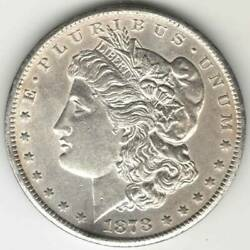 Antique Us 1 Carson City 1878 Ss Morgan Dollar Silver 0.900 First Year Minted