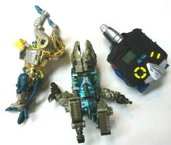 Vintage 1990s Transformers Action Figures And Video Game 1997 Tiger Electronics