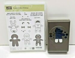 Stampin Up Cookie Cutter Christmas Bundle Stamp Set And Gingerbread Builder Punch