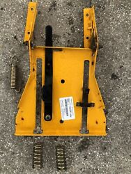Cub Cadet Rzt-50 Zero Turn Mower Seat Mount Bracket Adjuster Assembly And Springs