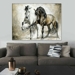 Horse Abstract Canvas Wall Art Painting Pictures Home Hanging Posters Home Decor