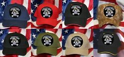 Senior Chief Petty Officer Scpo E-8 Hat Patch Cap Us Navy Uss Skull Or-8 Gift