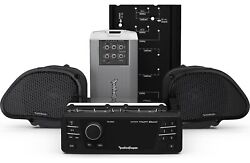 Rockford Fosgate Hd9813rg-stage2 Source Unit, 2 Speakers And Amplifier Kit For ...
