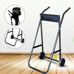 Outboard Boat Trolling Motor Stand Carrier Cart Heavy-duty 70kg Weight Capacity
