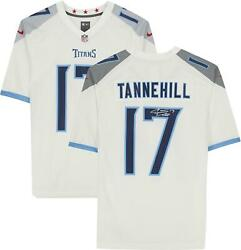 Ryan Tannehill Tennessee Titans Autographed White Nike Game Jersey