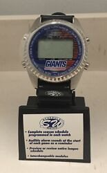 1997 New York Giants Schedule Watch By Sun Time Enterprises Brand New Htf