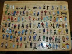 Lot Of 180 Loose O Scale Model Train Figures Great Condition