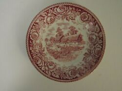 British Anchor Stratford Cottage Or House Shakespeare Area Small Plate Floral
