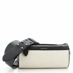 Burberry Barrel Crossbody Bag Canvas with Leather Small $891.00