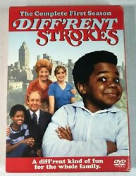 Different Strokes - The Complete First Season Dvd, 2004, 3-disc Set Rare Oop