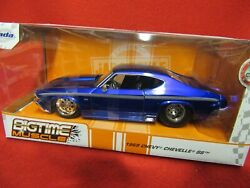 1969 Bigtime Muscle Chevy Chevelle Ss - Diecast - 1/24 Scale