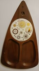 Fred Press Gold Medallions On Ceramic And Serv Wood Patent No. 142806