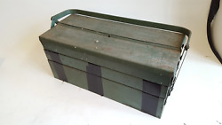 Good Counterlever Tool Box W Contents Mixed Drill Bits Spanners Etc 39853