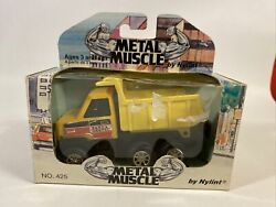 Nylint Metal Muscle Dump Truck 1990 1/64. Sand And Gravel In Box
