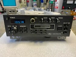 85 86 Ford F Series Pickup Truck Electronic Am Fm Stereo Radio Cassette 1985