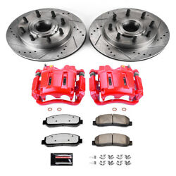 Power Stop For 07-08 Ford F-250 Super Duty Z36 Truck And Tow Kit W/ Calipers - F