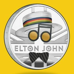 2020 Elton John 1 Oz Silver Proof - Music Legends Collection 2nd Release