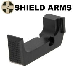 Shield Arms Steel Enhanced Magazine Catch Release For Glock 43x And 48 G43x-emr