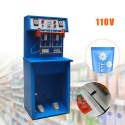 Pneumatic Tube Sealing Machine For Toothpaste, Cream, Cosmetics Print Date 110v