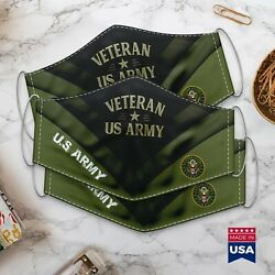 Gold Star Gif Veteran Us Army – Vintage Style – Cloth Face Mask Gift