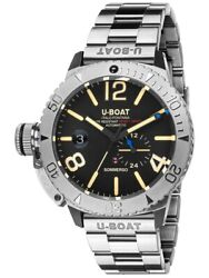 U-boat 9007/a/mt Sommerso Automatique 46mm 10atm