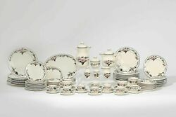 Large Set Of Villeroy And Boch Part Dinner Service In The Palermo Pattern