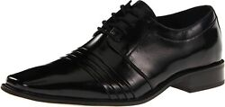 Stacy Adams Black Raynor Cap Toe Lace Up Shoe 24748 001